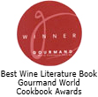 Best Wine Literature Book Gourmand World Cookbook Awards
