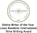 Online Writer of the Year Louis Roederer International Wine Writing Award