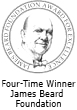 WFour-Time Winner James Beard Foundation