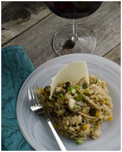 Mushroom Risotto with Butternut Squash Recipe Paired with San Michele ...