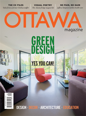 Ottawa Magazine September cover