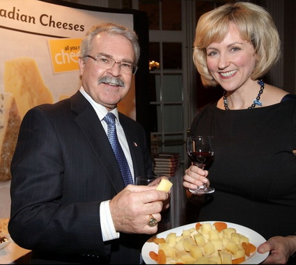 Cheese and wine Minister Ritz