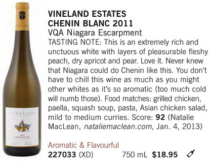 Vineland Chenin Blanc April 27 3