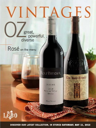 Vintages Catalogue May 11 2013
