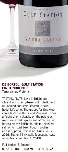 De Bortoli Pinot Noir