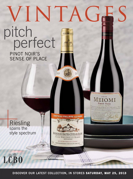 LCBO Vintages Catalogue May 25 2013