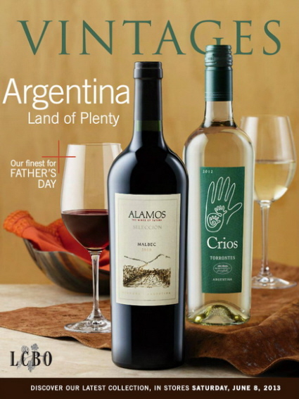 Vintages Catalogue June 8 2013