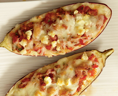July - Post 1 Smoky stuffed eggplant