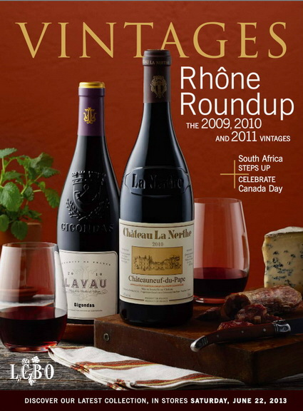Vintages Catalogue June 22 2013