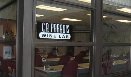Algonquin Wine Tasting Lab