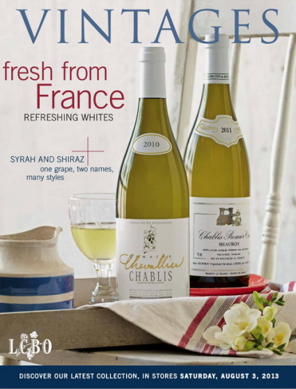 Aug 3 2013 Vintages Catalogue
