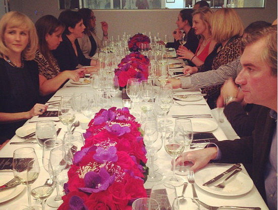 Chatelaine dinner table