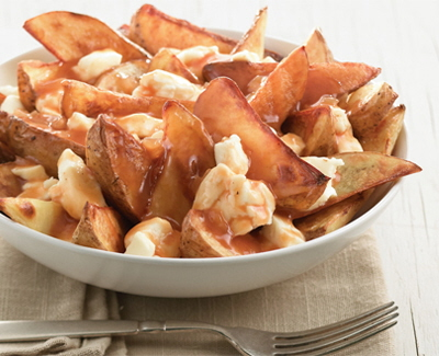 how to make homeade poutine
