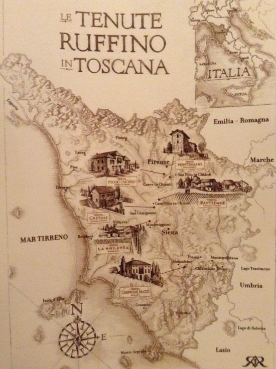 Ruffino Map