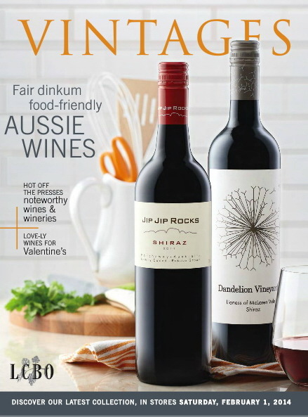 Feb 1 2014 Vintages Catalogue cover 3