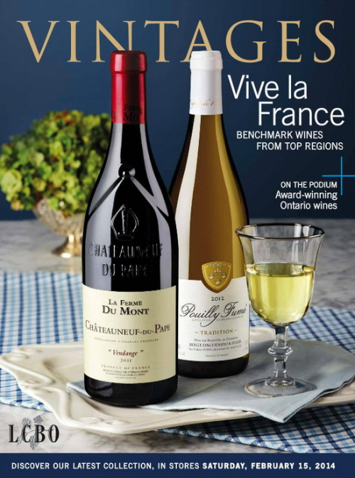 Feb 15 2014 Vintages Catalogue
