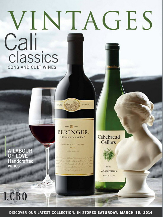March 15 2014 Vintages Catalogue