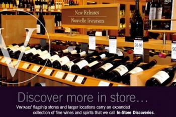 LCBO Vintages In-Store Discovery
