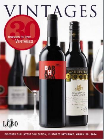 March 29 2014 Vintages Catalogue