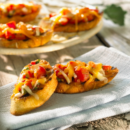 Balderson Barbecue Bruschetta