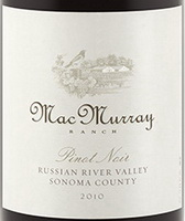 MacMurray Ranch Ernest & Julio Gallo Pinot Noir 2010 3