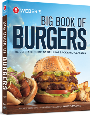 Weber BBQ Cookbook 3D B