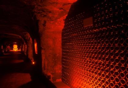 cellar cave red light