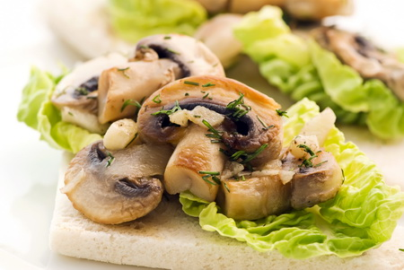 Recipes from Wine Country: Warm Mushroom Salad with Reif Estate ...