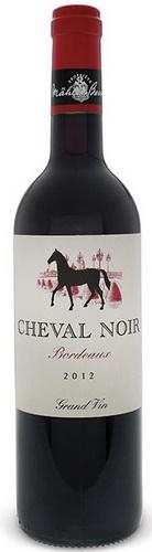 cheval noir bottle