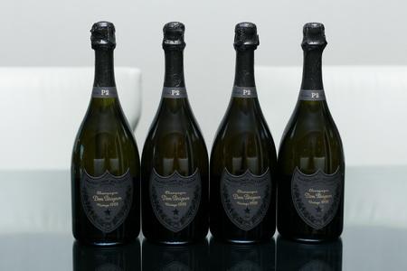 Dom Perignon 4 bottles of Champagne