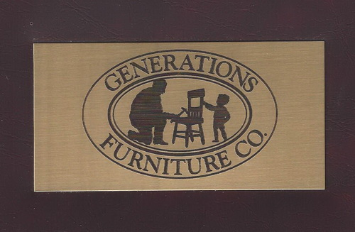 Generations Furniture plate 16