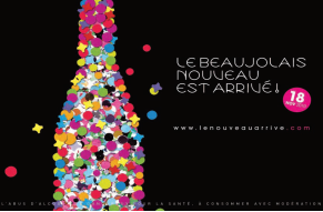 The Official Beajolais Nouveau Poster for 2010