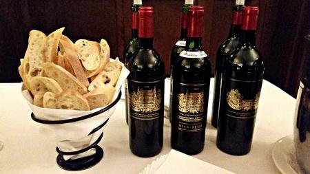 Palmer wines & bread crisps