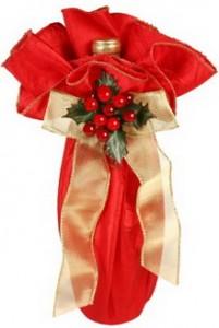 christmas gift bag wine B
