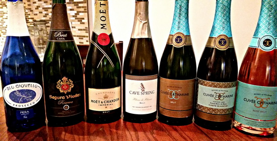 Sparkling Wines Jan. 2015