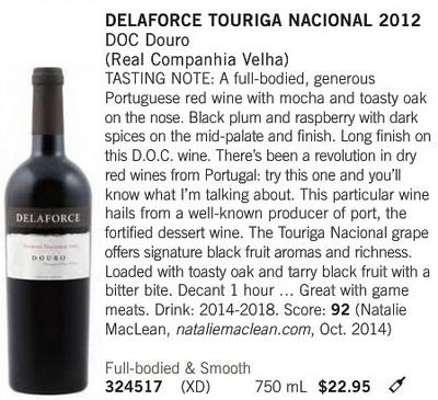 Delaforce Touriga Feb. 21