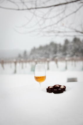 icewine and chocolate