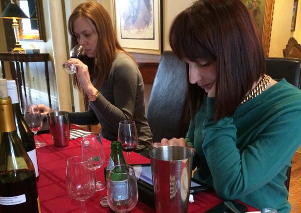 wine tasting two