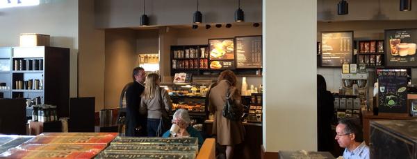 Starbucks order line