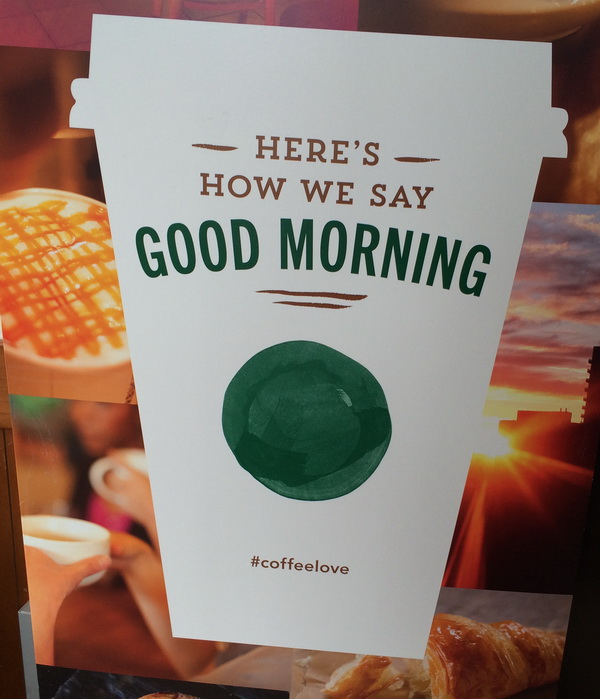 Starbucks poster