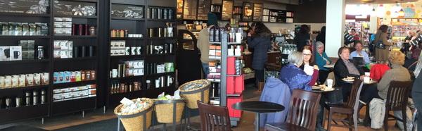 Starbucks seating