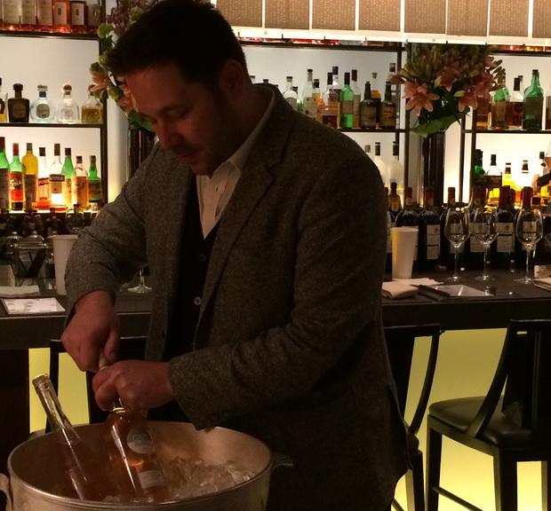 JP opens wine