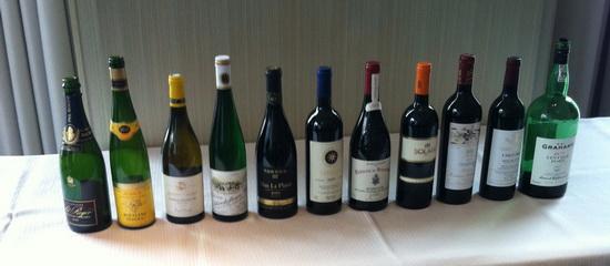 Primum Familiae Vini Row of bottles 2