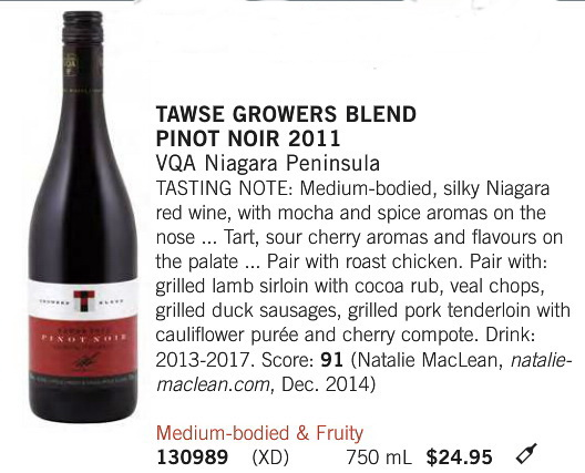 Tawse Growers Blend