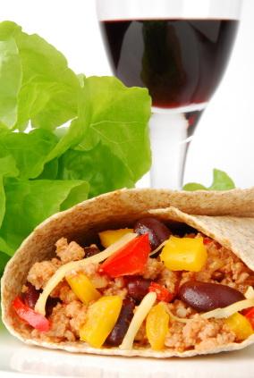 burrito wine