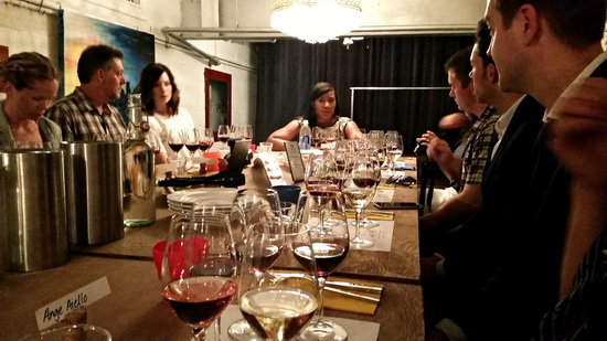 Table of Wine Tasters