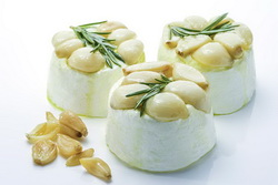 garlic chevre