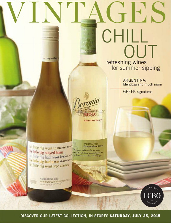 July 25 2015 Vintages Catalogue