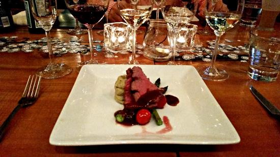 Kim Crawford Dinner Plate July 16, 2015