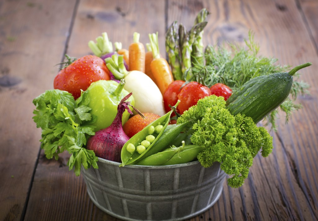 vegetables fresh basket